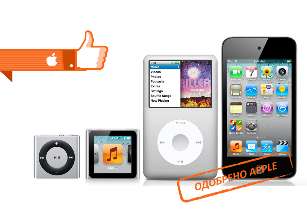 Ремонт Apple iPod в Тушино